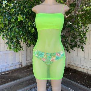 Highliter beach dress